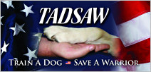 TADSAW: Train A Dog, Save A Warrior | TADSAW.org