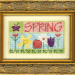 Little Bit o' Spring | Original counted thread designs by Linda Stolz for Erica Michaels Designs | EricaMichaels.com