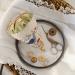 Silk design on linen | Original counted thread designs by Linda Stolz for Erica Michaels Designs | EricaMichaels.com