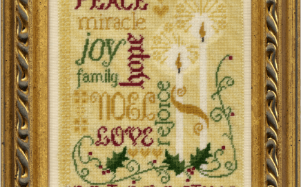 Spirit of Christmas | Original counted thread designs by Linda Stolz for Erica Michaels Designs | EricaMichaels.com