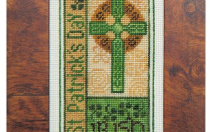St. Patrick's Day Bits | Original counted thread designs by Linda Stolz for Erica Michaels Designs | EricaMichaels.com