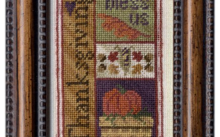 Thanksgiving Bits | Original counted thread designs by Linda Stolz for Erica Michaels Designs | EricaMichaels.com