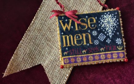 Wise Men | Original counted thread designs by Linda Stolz for Erica Michaels Designs | EricaMichaels.com