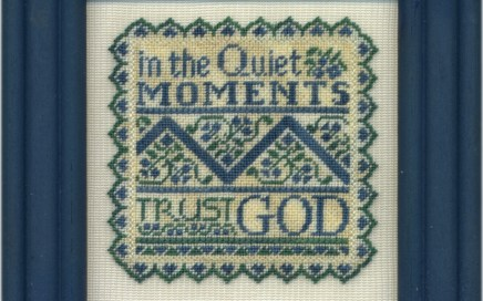 Quiet Moments | Original counted thread designs by Linda Stolz for Erica Michaels Designs | EricaMichaels.com