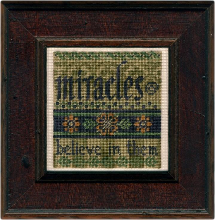 Miracles on silk gauze