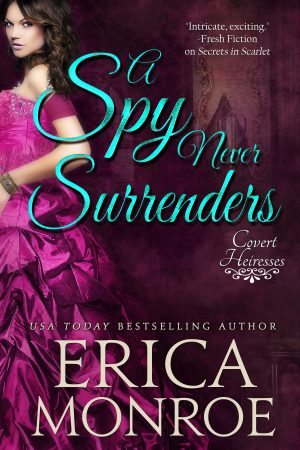 Book Cover: A Spy Never Surrenders