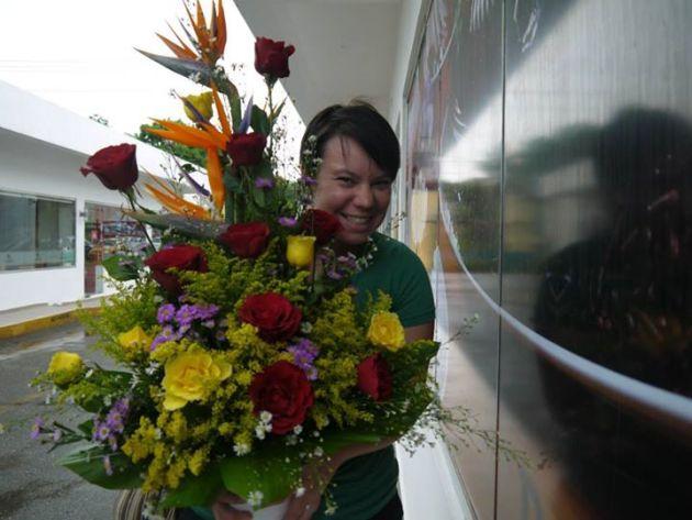 Dominican Birthday Flowers