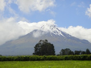 New Zealand. Mount Taranaki.