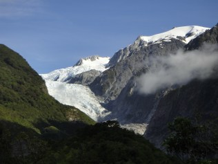 New Zealand. Franz Josef Glacier.