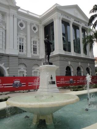 Singapore. Victoria Theatre.
