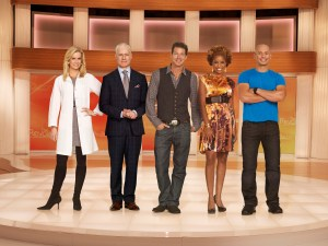 "Cast of ABC's ""The Revolution"". (L-R) Dr. Jennifer Ashton, Tim Gunn, Ty Pennington, Dr. Tiffanie Davis Henry, Harley Pasternak. Photo courtesy of ABC."
