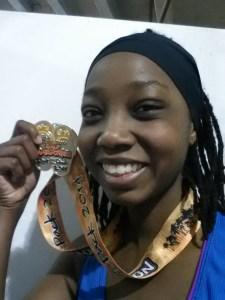Erica w Myrtle Beach Medal