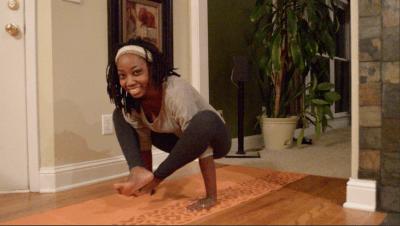 firefly pose yoga