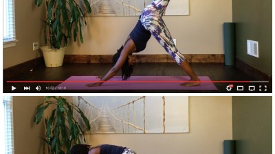 yoga flow to tone abs