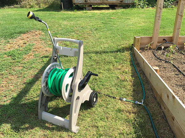 how to install an irrigation system in garden