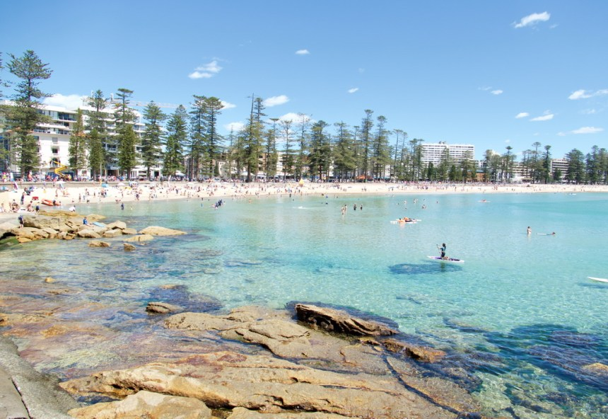 Fitness travel expert Erica Rascon explores Manly Beach