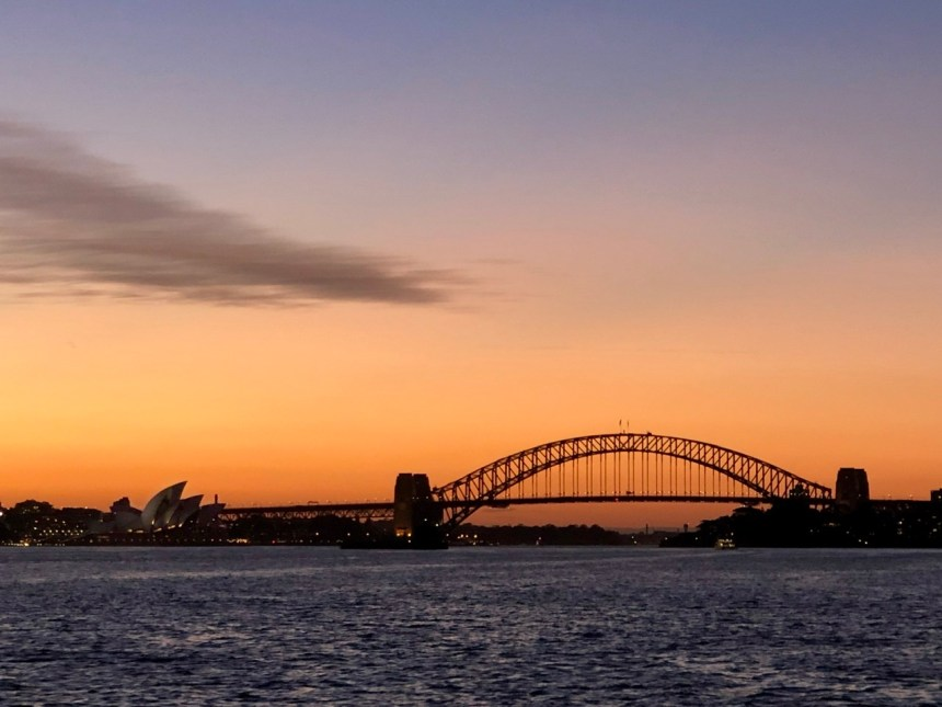 best places to see sunset in sydney
