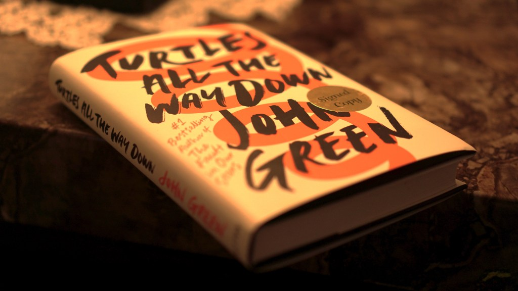 Turtles All the Way Down by John Green © 2018 ericarobbin.com   All rights reserved.