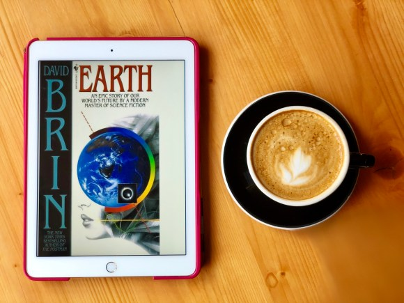 Earth by David Brin book © 2018 ericarobbin.com