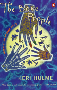 The Bone People by Keri Hulme book, photo courtesy of Goodreads