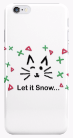 Let it Snow... iPhone Case © 2018 ericarobbin.com | All rights reserved.