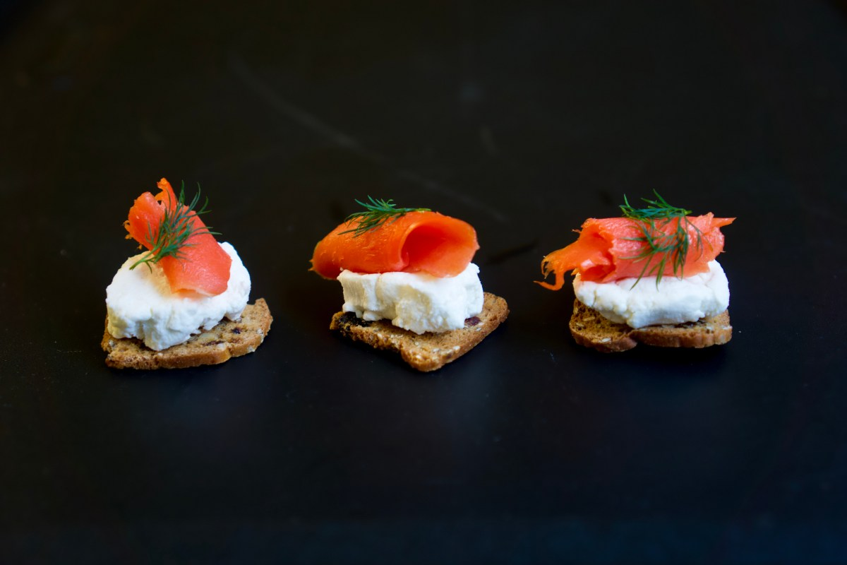 Smoked Salmon Canapés © 2018 ericarobbin.com | All rights reserved.