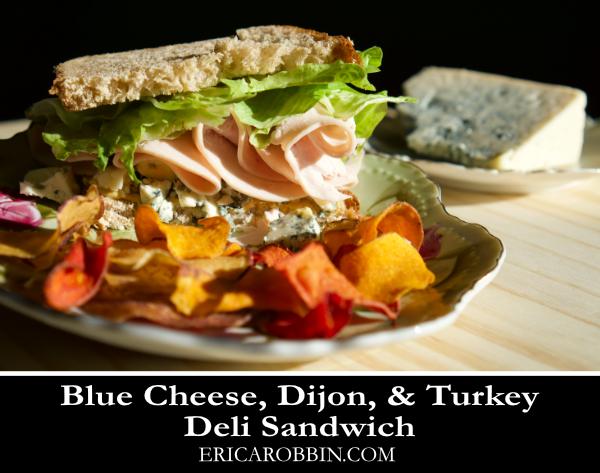 Blue Cheese & Turkey Deli Sandwich © 2019 ericarobbin.com | All rights reserved.
