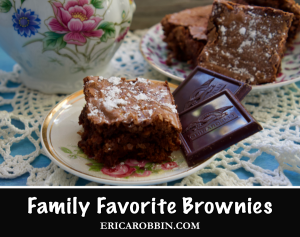 Family Brownies © 2018 ericarobbin.com | All rights reserved.