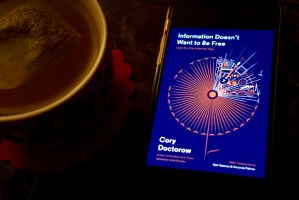 Information Doesn't Want to Be Free: Laws for the Internet Age by Cory Doctorow © 2019 ericarobbin.com | All rights reserved.