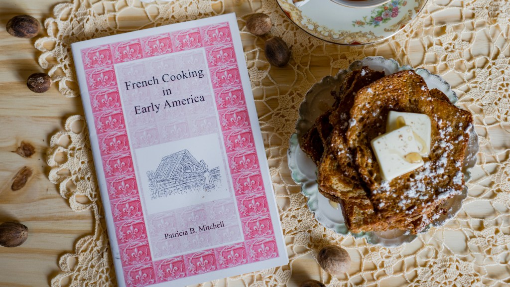 French Cooking in Early America by Patricia B. Mitchell © 2019 ericarobbin.com | All rights reserved.