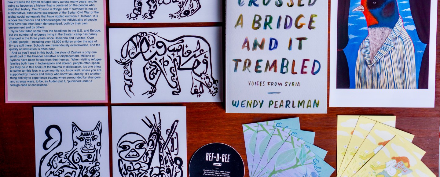 We Crossed a Bridge and It Trembled: Voices from Syria by Wendy Pearlman © 2019 ericarobbin.com   All rights reserved.