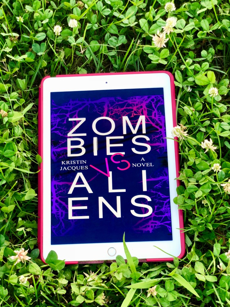 Zombies vs Aliens by Kristin Jacques © 2019 ericarobbin.com | All rights reserved.