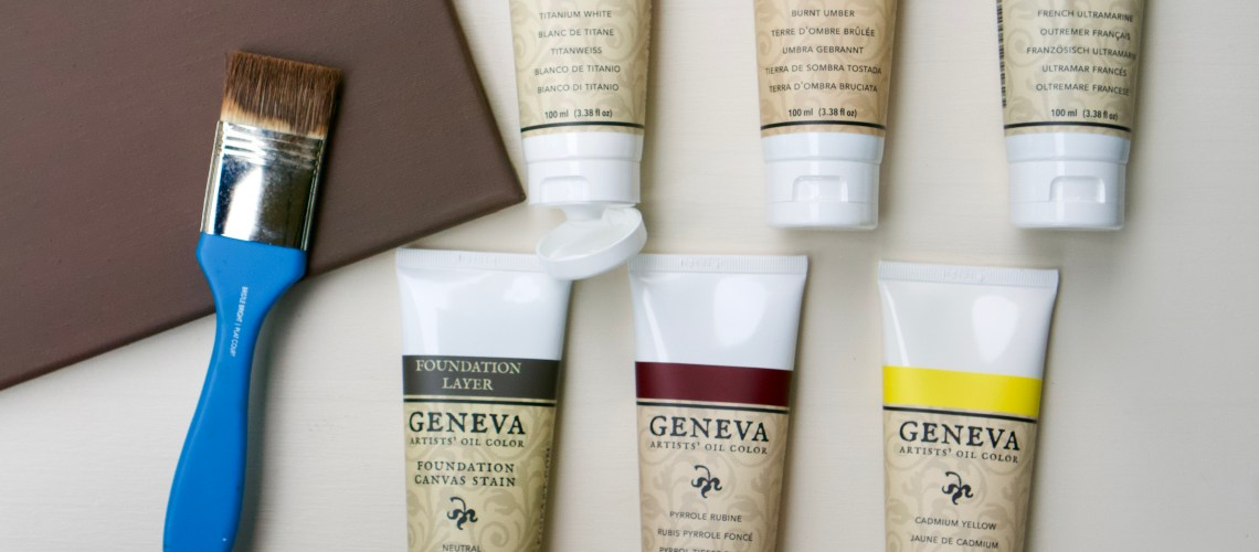Geneva Paint Essential Palette and Foundation Layer Stain © 2019 ericarobbin.com | All rights reserved.