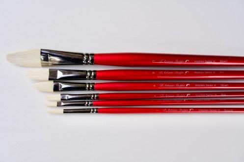 D'Artisan Shoppe Masters Series VI Art Brushes