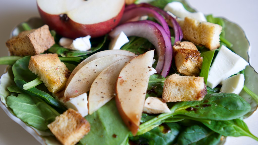 Pear & Cheese Salad with Balsamic Vinaigrette © 2019 ericarobbin.com   All rights reserved.