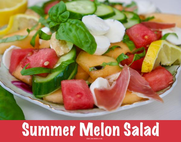 Summer Melon Salad | Erica Robbin
