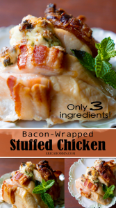 Bacon-Wrapped Stuffed Chicken | Erica Robbin