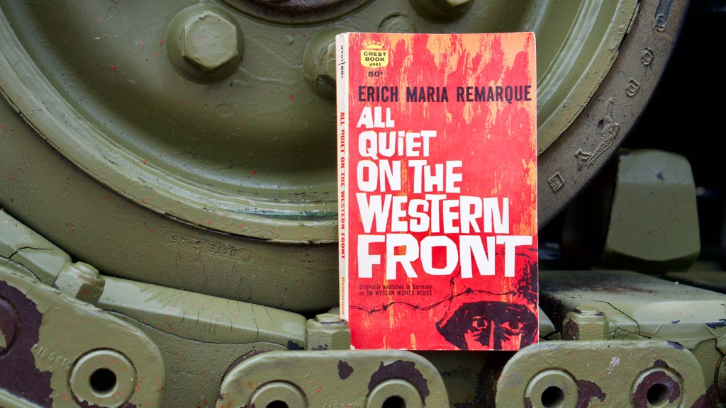 All Quiet on the Western Front by Erich Maria Remarque   Erica Robbin