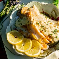 Dover Sole Pan-Seared with Lemon Butter Sauce
