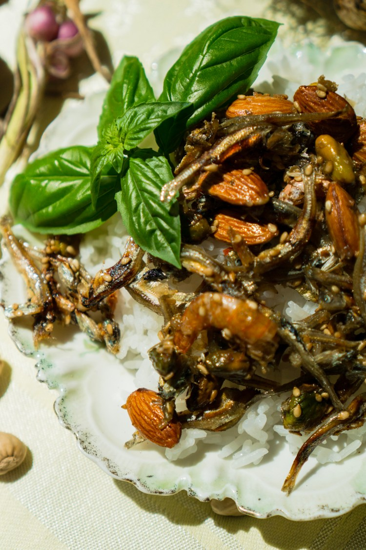 21 Garlic Stir-Fried Anchovies | Erica Robbin