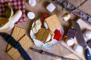 Strawberry and Banana S'mores | Erica Robbin