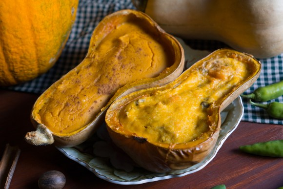 Sweet and Savory Butternut Custard | Erica Robbin