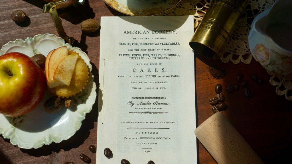 American Cookery by Amelia Simmons | Erica Robbin