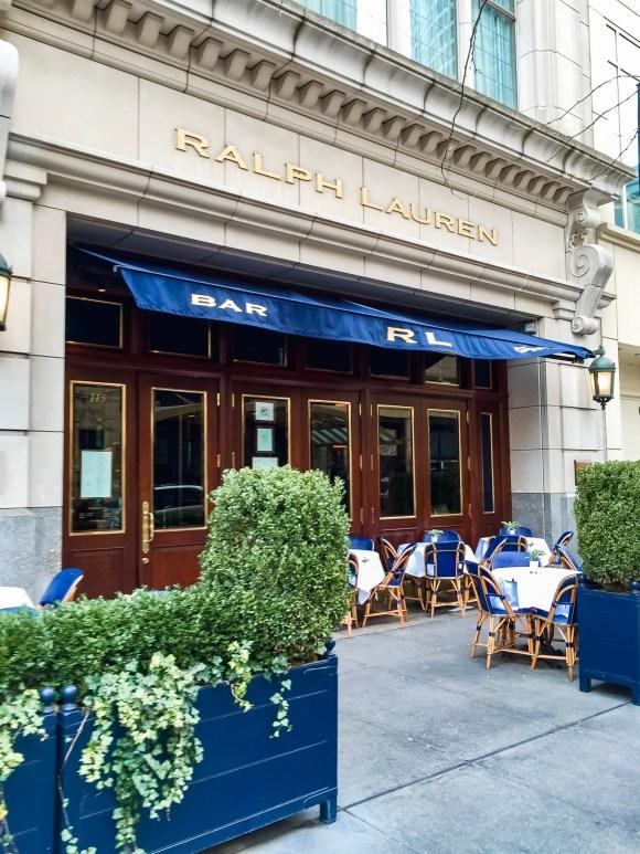 Ralph Lauren Restaurant | Erica Robbin