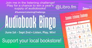 Libro.fm Audiobook Bingo 2020   Erica Robbin