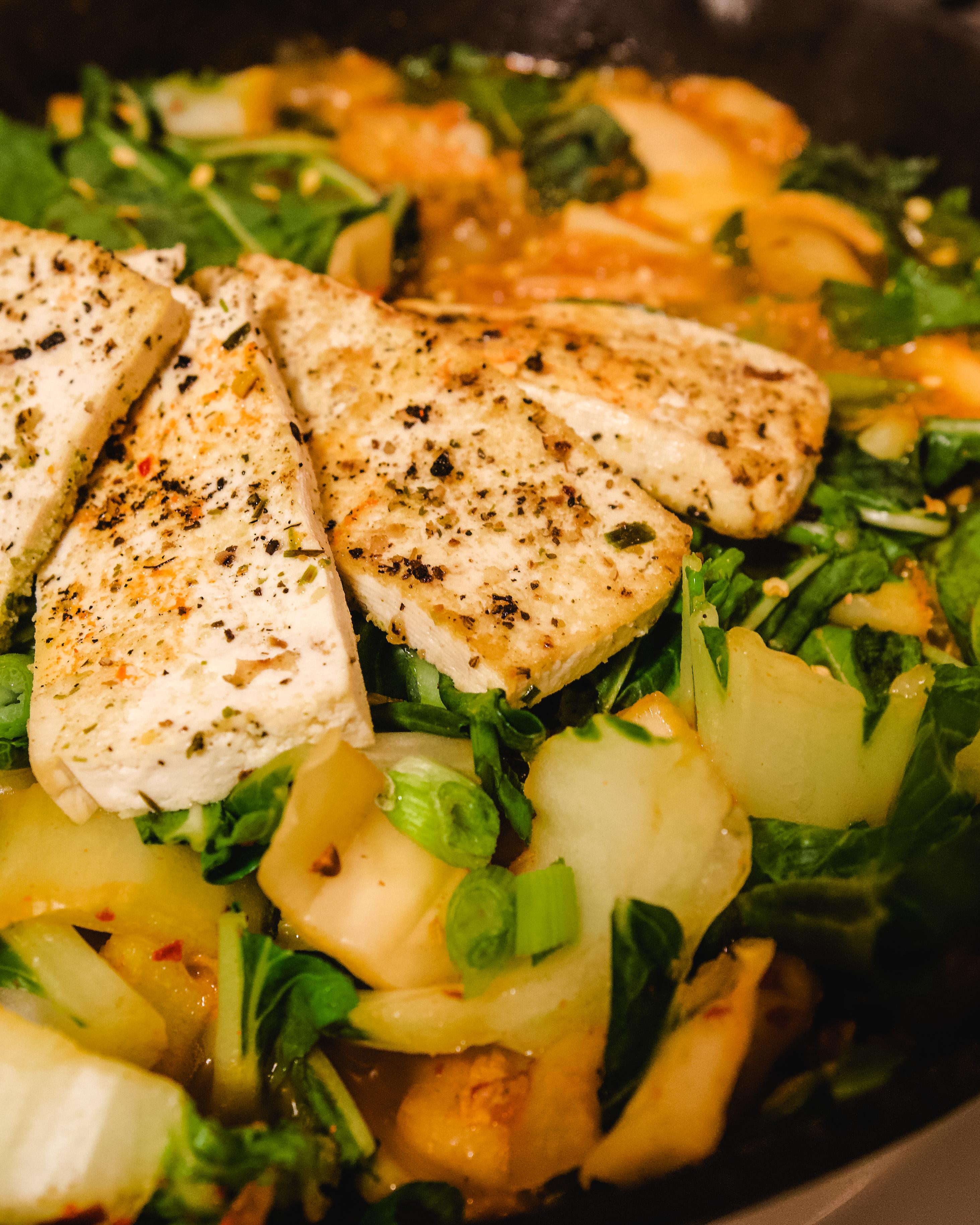 Kimchi Stew Recipe Close Up | Erica Robbin