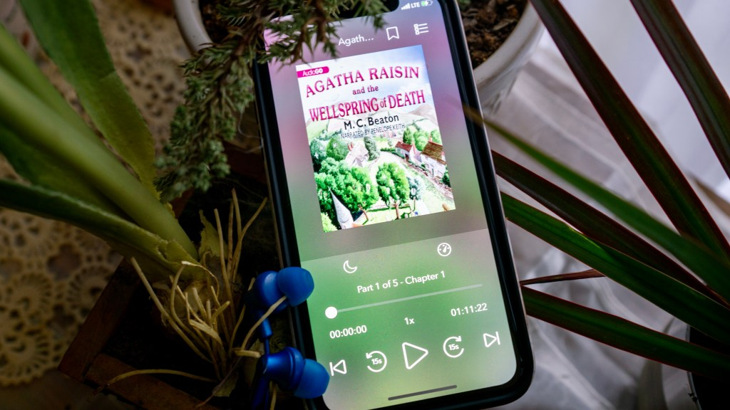 Agatha Raisin and the Wellspring of Death by M.C. Beaton   Erica Robbin