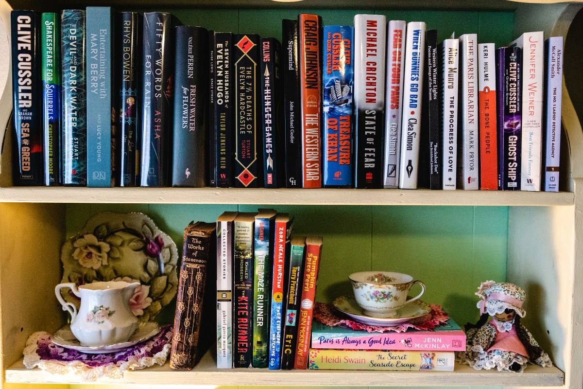 2021 Book Shelf | Erica Robbin