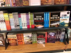Johannesburg International Airport Book Display 2   Erica Robbin