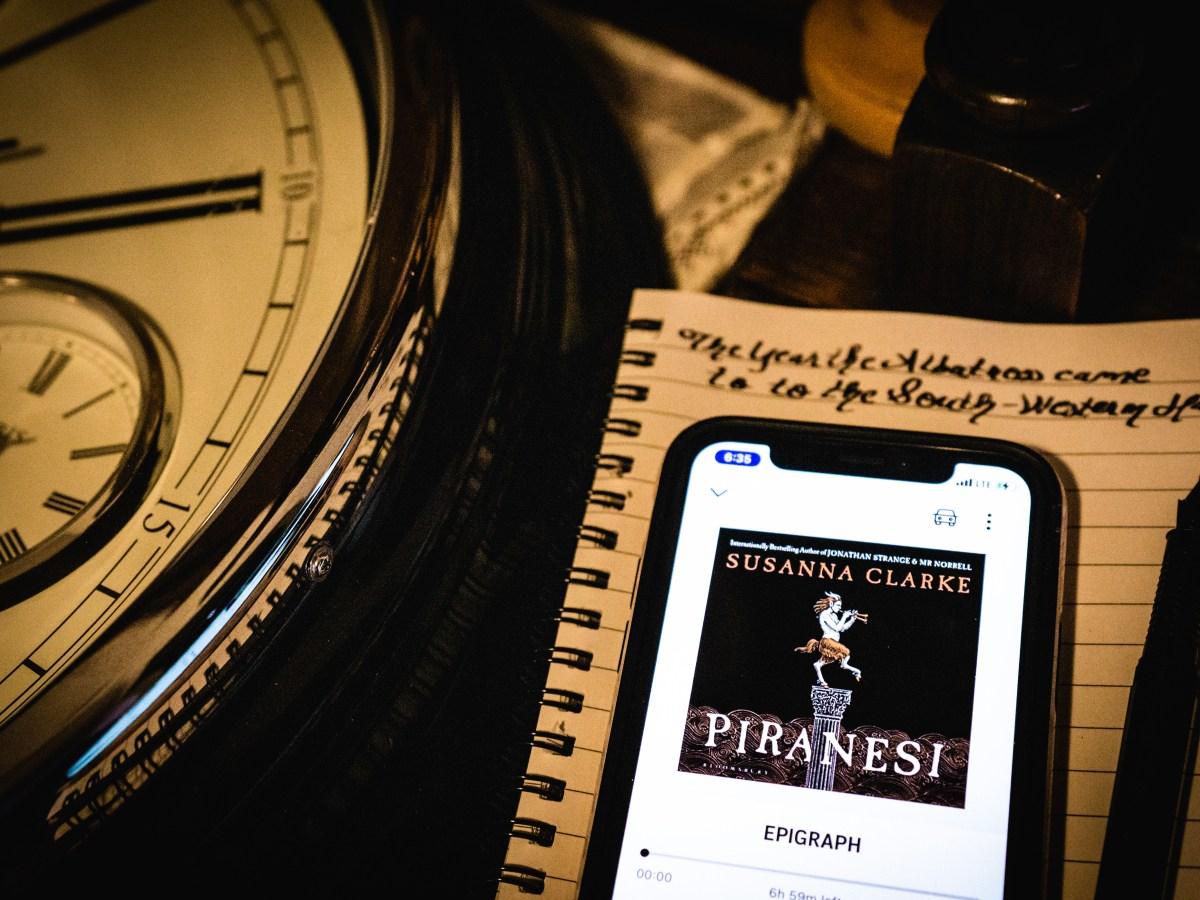 Piranesi by Susanna Clarke | Erica Robbin